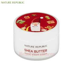 NATURE REPUBLIC Shea Butter Moist Steam Cream 100ml [Green Holiday Edition]